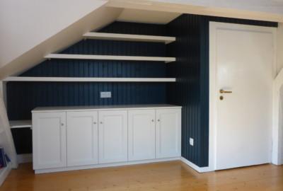 Dachschräge + Balken= kein Hindernis für Einbauschrank nach Maß - Schreinerei, Möbel, individuell, hochwertig, Rein-Main-Neckar-Kreis